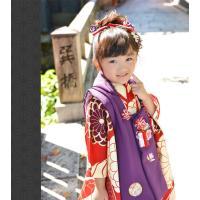 七五三 着物 3歳 フルセット 購入 被布セット 「 紫織(しおり) 」 三歳 3歳用 七五三 三ツ身 お祝い着 縮緬 ちりめん|kyotorurihinagiku|04