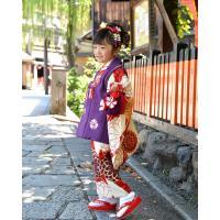 七五三 着物 3歳 フルセット 購入 被布セット 「 紫織(しおり) 」 三歳 3歳用 七五三 三ツ身 お祝い着 縮緬 ちりめん|kyotorurihinagiku|05