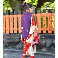 七五三 着物 3歳 フルセット 購入 被布セット 「 紫織(しおり) 」 三歳 3歳用 七五三 三ツ身 お祝い着 縮緬 ちりめん|kyotorurihinagiku|06