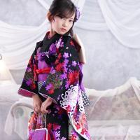 七五三 着物 7歳 セット 『凛』 新作 四ツ身 7歳用 お祝い着|kyotorurihinagiku|03
