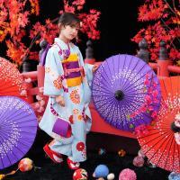 七五三 着物 7歳 四ツ身 7歳用 お祝い着 『レトロ(水色)』 フルセット|kyotorurihinagiku|05
