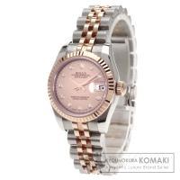 ROLEX ロレックス 179171NG デイトジャスト 10Pダイヤモンド 2640 K18ピンク...