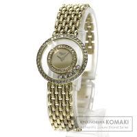 Chopard ショパール 20/5691 ハッピーダイヤモンド 2640 K18イエローゴールド ...