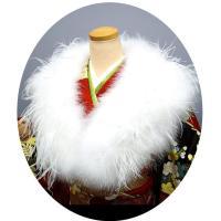 「ふわっふわっ」両面羽毛のボリューム感! オーストリッチ羽毛ショールです。  両面羽毛とは・・・表面...