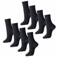 ビジネスソックス ブラック 8足組セット 26cm〜28cm 通気性もよく抗菌防臭加工。 シンプルブ...