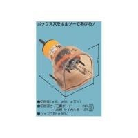 【メーカー】 ●未来工業(株)  【仕様】 ●セット内容 ・SBホルソー(本体) ・替刃(石膏ボード...