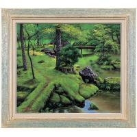 絵画。天下一の名庭と謳われる京都、西芳寺(さいほうじ)は、通称の苔寺で知られ世界遺産にも登録されてい...