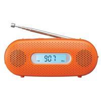 乾電池がなくてもラジオ・ライトが使える 手回し充電対応 ■AMラジオ番組がFM放送で聴ける ワイドF...