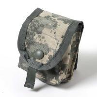 US.ACU.グレネードパウチ スナップボタン(新品)  アメリカ軍本物パウチ  後ろにスナップボタ...