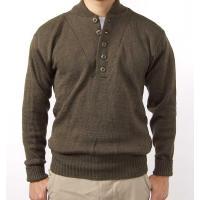 US.ブラウン5ボタンセーター(新品) アメリカ軍実用のセーターで人気の高い商品 新品で入荷すること...