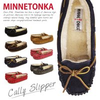 『MINNETONKA-ミネトンカ-』Cally Slipper-キャリー スリッパ-