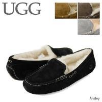 『UGG-アグ-』Ansley-アンスリー ムートン モカシン-[3312 UGGスリッパ]
