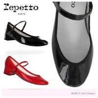 レペット レディース パンプス ROSE Patent leather パテント レザー ストラップ...