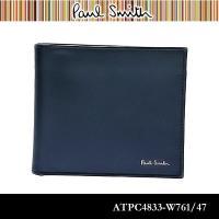 ポールスミス Paul Smith 財布 メンズ ATPC4833-W761/47 ネイビー/マルチ...
