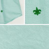 国内正規品 即日発送 SWEEP!! スウィープ!! メンズ リネン コットン 7分袖 プルオーバーシャツ Catalina Cotton/Linen (グリーン)