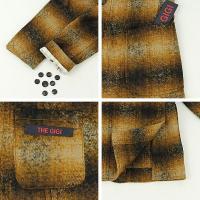 セール 国内正規品 THE GIGI ザ・ジジ メンズ モヘヤ オンブレチェック 2B シングルジャケット ANGIE E082 (ブラウン)special priceBM