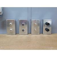 アルミボックススイッチ プッシュメタルタイプW|lamps1122|06