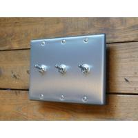 トグルスイッチプレート フラットスクエア 3個用 インダストリアル|lamps1122|02