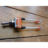 トグルスイッチプレート フラット&文字プレート 1個用 リード線付き インダストリアル|lamps1122|03