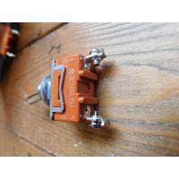 トグルスイッチプレート フラット&文字プレート 3個用 インダストリアル lamps1122 03