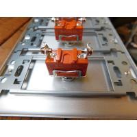 トグルスイッチプレート フラット&BLACK文字プレート 1個用 インダストリアル|lamps1122|04