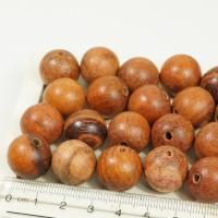 フィリピン製の丸玉ウッドビーズ。ヤシの木のナチュラルなエスニックカラーが魅力的。ハンドメイドアクセサ...