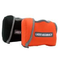 専用カバーを使いレーザーアキュラシーを腰ベルト等に付ければ、ラウンド中も常時携帯でき、計測したいとき...