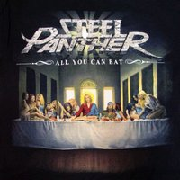 STEEL PANTHER - ALL YOU CAN EAT / スティール・パンサー オフィシャル バンドTシャツ ロックTシャツ