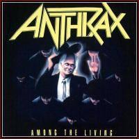 ANTHRAX - AMONG THE LIVING / アンスラックス オフィシャル バンドTシャツ ロックTシャツ