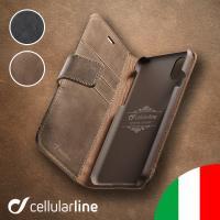 iPhone XS ケース 手帳型 がイタリアからやってきました。  【商品特徴】 ・本革をハンドメ...