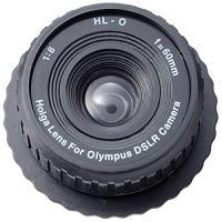 オリンパス・フォーサーズマウント仕様(ブラックコーナーエフェクター搭載) 重さ:25g 焦点距離:6...