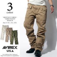 AVIREX アビレックス BU AERO PANTS エアロカーゴパンツ 6166112 バイカーパンツ