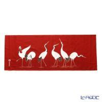 長寿の象徴である鶴たちが優雅な姿で立つデザイン♪ エイラクヤ 永楽屋 インテリアその他