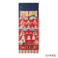 雛人形の代表的な飾りである京都式の七段飾りがデザインされた手ぬぐい♪ エイラクヤ 永楽屋 インテリア...