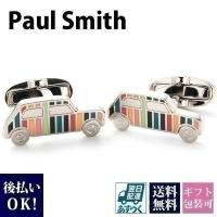 ポールスミス Paul Smith カフス メンズ カフスボタン ミニクーパー マルチストライプ A...