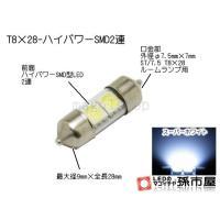 ■合計:2連■前面:ハイパワーSMD型LED 2連
