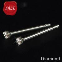 ギフト プレゼント  ■使用素材:K10WG(K10ホワイトゴールド) ■天然ダイヤモンド合計2石0...