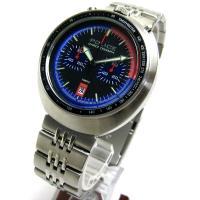 ◎商品ランク【7〜8】 ◎デザイン性豊かなアバンギャルドな時計です。  ◎ケース11時と1時位置にプ...