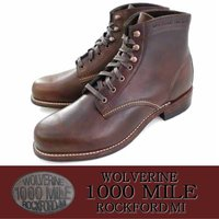 【WOLVERINE ウルヴァリン】 1883年アメリカで創業、125年以上の歴史を誇る世界でも有数...