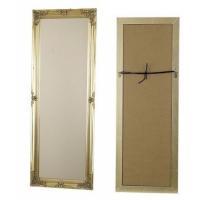 ロココ調風ミラーです。 クラシカルなバロック調デザインで玄関やお部屋の鏡としても。 幅39cm x ...