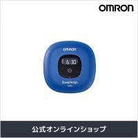 OMRONの「ねむり時間計(HSL-004T-B)」は、 枕元に置くだけで、寝返りなどの寝具の動きか...