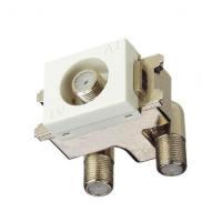 マスプロ電工 4K・8K衛星放送(3224MHz)対応 直列ユニット 1端子型・中継用 DWK10-B
