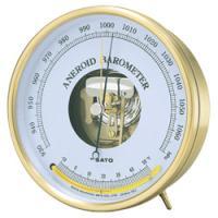 気象観測に使用される本格的な気圧計です。また、真鍮を使用したフレーム、クラシカルなデザインはインテリ...