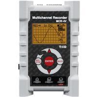 「マルチチャンネルレコーダ MCR-4V」は、1台で4チャンネルの電圧測定・記録ができるデータロガー...