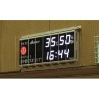 熱中症予防表示付デジタル時計(NDC-100W)用保護ガード 外形寸法:W1000×H475×D12...