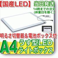 ライトニング 【固定式 明るさ切替器&電池BOX】NEWLEDトレーサーA4(NA4-08)...