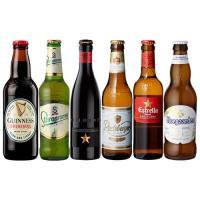 4/15限定+5% 世界のビール6本飲み比べ 第2弾 スペイン産高級ビール入 スペイン ドイツ ベルギーなど6ヵ国のビールが大集結 長S 母の日 父の日
