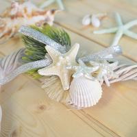 ハートリース 壁掛け 壁飾り 貝殻 シェル スターフィッシュ ハワイアン雑貨 インテリア雑貨|likebeach|04