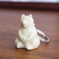 シロクマキーホルダー Polar Bear ポーラーベアー  Key holder MK Tresmer(エムケートレスマー) クリックポスト配送可
