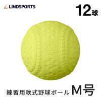 野球 軟式 M号球 M球 ボール 1ダース (12球入) 練習球 練習用 LINDSPORTS リンドスポーツ